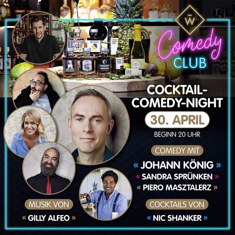 Cocktail Night mit Schmucker und Wajos